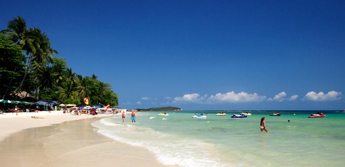 查汶海滩 苏梅岛景点 泰国国家旅游局中文官方网站